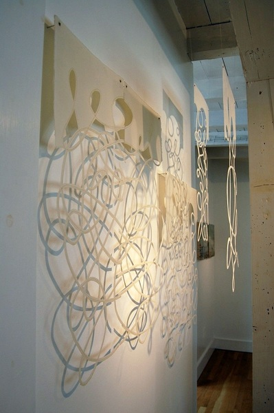 String Theory-WD One, Installation, Art Current Gallery, 10x6x2